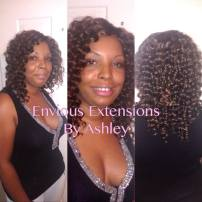 Full Weave with NO Hair Left Out