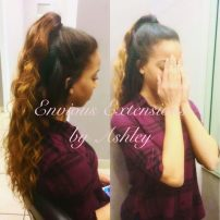 2 Part Vixen Sew-In Installed by Ashley