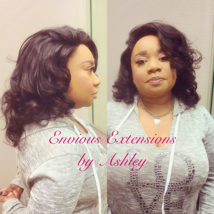 Full Weave with Lace Frontal