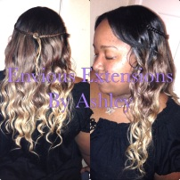 Full Weave with Minimal Hair Left Out