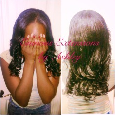 Full Weave with Leave Out