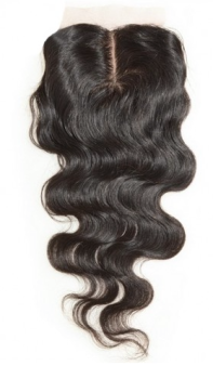 Heiress Collection Silk Base Closure with Middle Part.