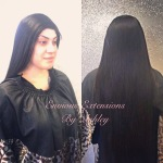 Full Weave with Lace Frontal by Ashley of Envious Extentions Posare Lake Mead Las Vegas